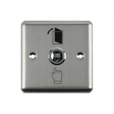 STAINLESS STEEL EXIT SWITCH SQUARE - NO/COM
