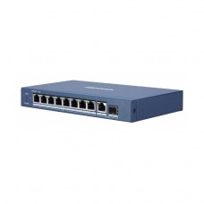 DS-3E0510P-E - 8+1+1 PORT 100/1000 MBPS POE SWITCH